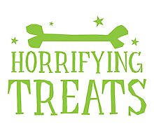 Horrifying TREATS! Photographic Print