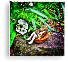 Sleeping Fairy Canvas Print