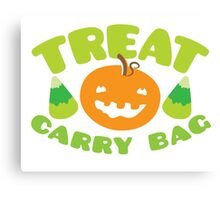 TREAT CARRY BAG Canvas Print