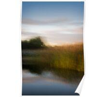 Blurred Landscape Poster