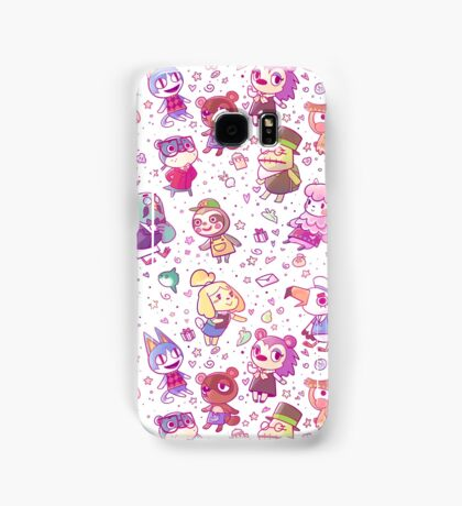 Animal Crossing Pattern Samsung Galaxy Case/Skin