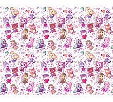 Animal Crossing Pattern Photographic Print