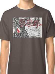 Wisdom of Trees - Red Raven Classic T-Shirt