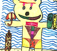 Big Kahuna Bear ( By Dante Dicandia ) by John Dicandia  ( JinnDoW )