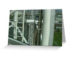 London from the Eye Greeting Card