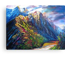 Routeburn Valley Canvas Print
