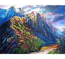 Routeburn Valley Photographic Print