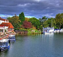 The Swan at Streatley - HDR by Colin J Williams Photography