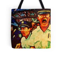 Really Pissed Off Cops Tote Bag