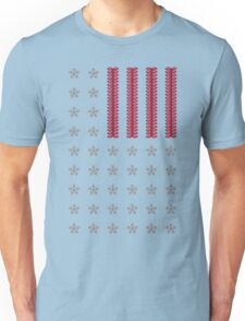 Diamond Stars and Ruby Stripes Flag Unisex T-Shirt