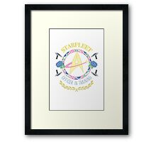 Starfleet Officer In Training Framed Print