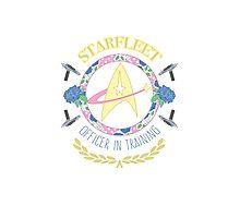 Starfleet Officer In Training Photographic Print