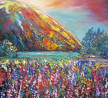 Mountain Lupins by HelenBlair