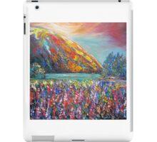 Mountain Lupins iPad Case/Skin