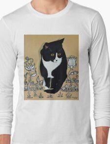 Tuxedo Cat... Long Sleeve T-Shirt
