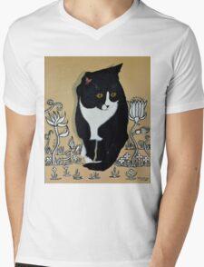 Tuxedo Cat... Mens V-Neck T-Shirt