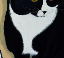 Tuxedo Cat... Sticker