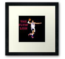 The Flyin' Lion Framed Print