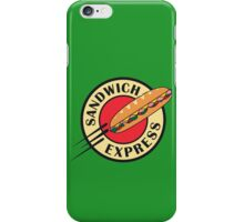 sandwich express iPhone Case/Skin