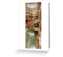 The Forum Shops at Cesar's Palace Greeting Card