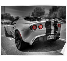 Lotus Elise Sport 001 Poster