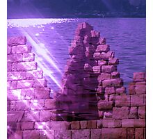 under the sea ancient ruin Photographic Print