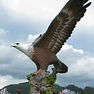 Langkawi Eagle by Mike Paget