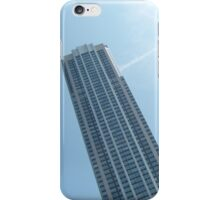 Tall buildings in the blue sky iPhone Case/Skin
