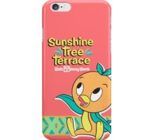 Sunshine Tree Terrace Orange Bird iPhone Case/Skin