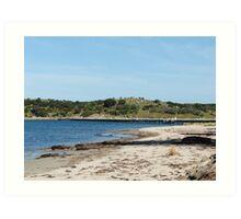 Granite Island Link Art Print