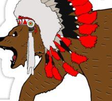 Bear Chief Sticker