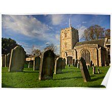 Romaldkirk Church -Co Durham Poster