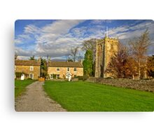 Romaldkirk - Co Durham Canvas Print