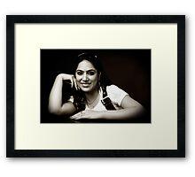 Chandani V Framed Print