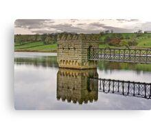 Hury Reservoir - Co Durham #2 Canvas Print