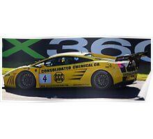 Lambo - sport sedan racing Bathurst 2009 Poster
