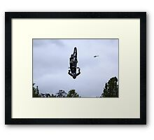 Who needs wings to fly? - Bathurst 2009 Framed Print