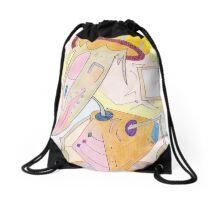 Spring Stepper Drawstring Bag