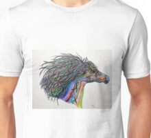 RACING THE WIND - A Story Painting Unisex T-Shirt
