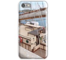 On Deck. The 'One and All'! Brigantine, Port Adelaide, S.Aust iPhone Case/Skin