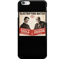 Edison vs Tesla iPhone Case/Skin