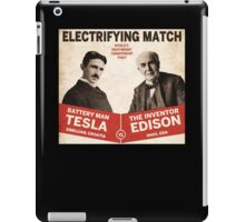 Edison vs Tesla iPad Case/Skin