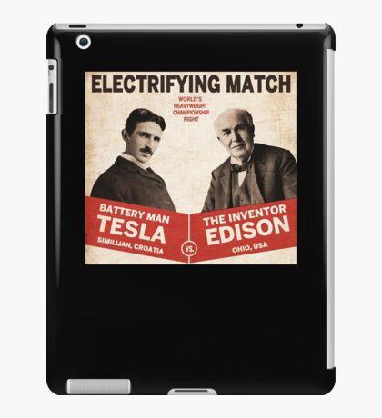 Edison vs Tesla iPad Case/Skin