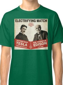 Edison vs Tesla Classic T-Shirt