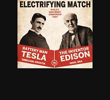Edison vs Tesla Unisex T-Shirt