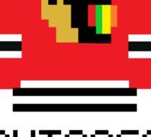 8-bit Chicago Blackhawks Sticker