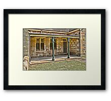 All in Stone Framed Print