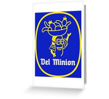 Del Minions Brand Bananas Greeting Card