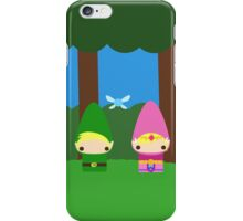 Zelda and Link iPhone Case/Skin