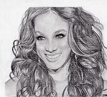 Tyra Banks by Chelsy Rose
